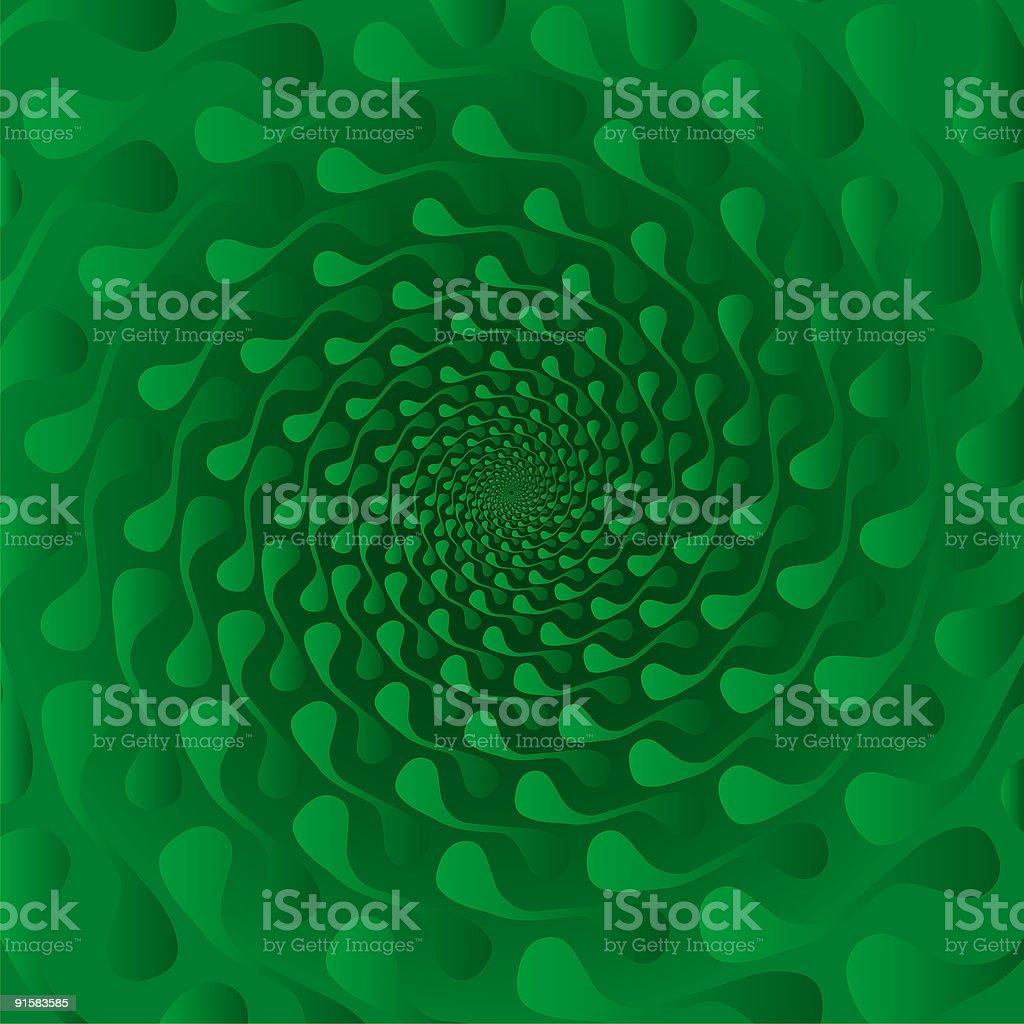 Pseudo spiral 03 vector art illustration