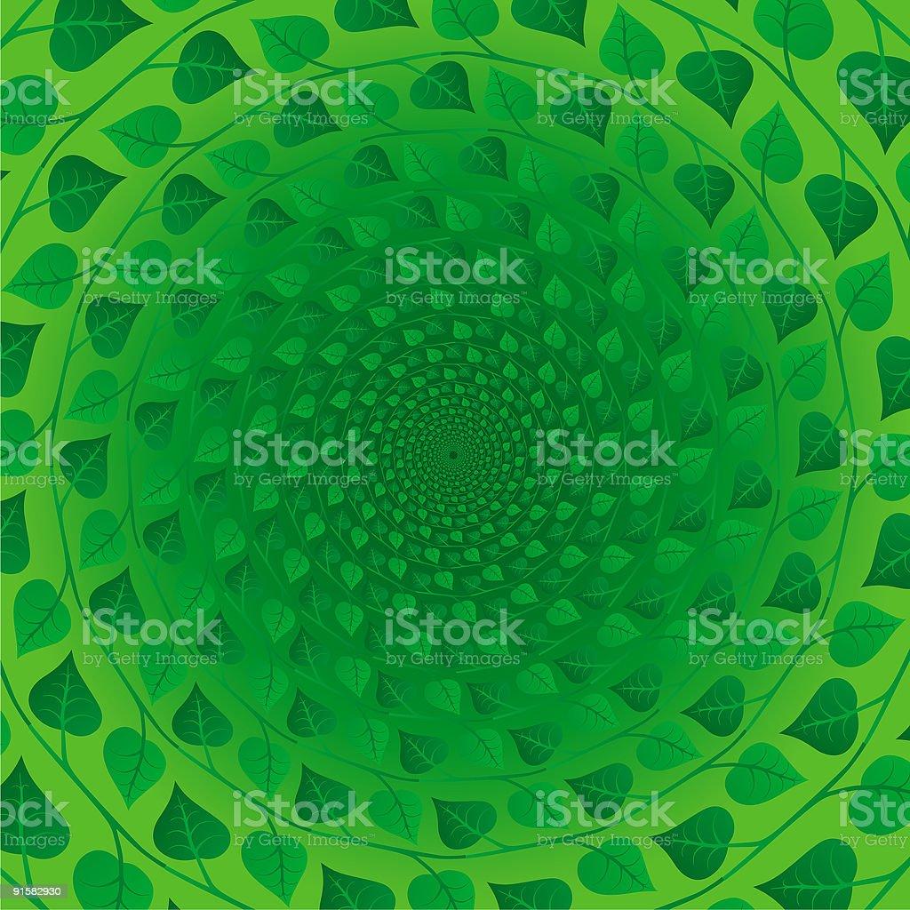 Pseudo spiral 08 vector art illustration