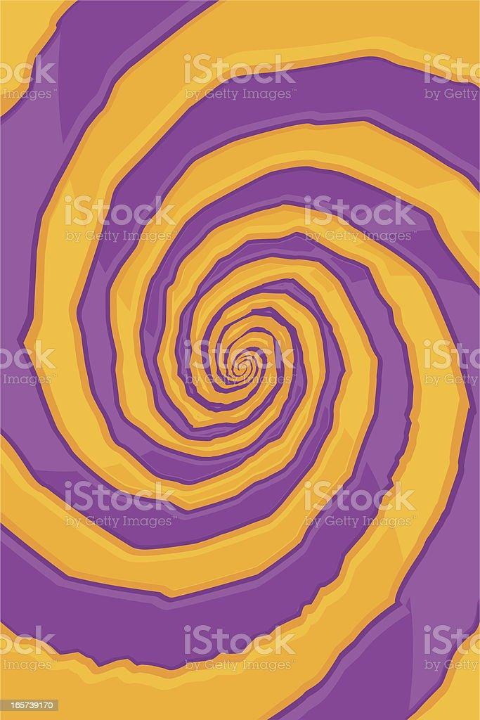 psycho swirl royalty-free stock vector art