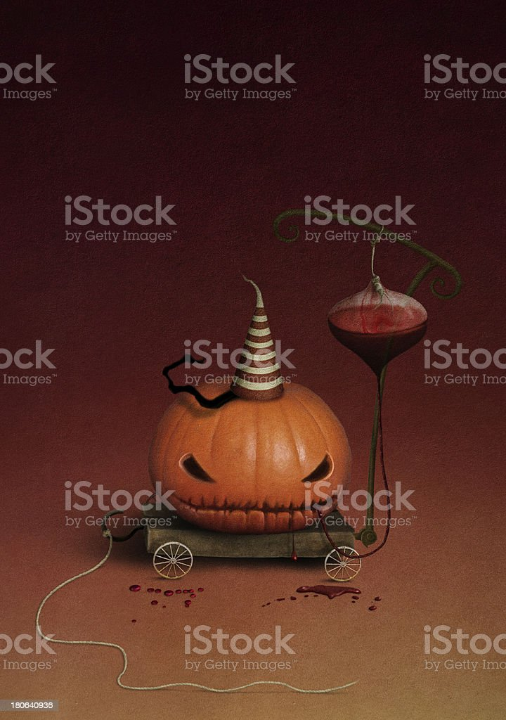 Pumpkin Halloween royalty-free stock vector art