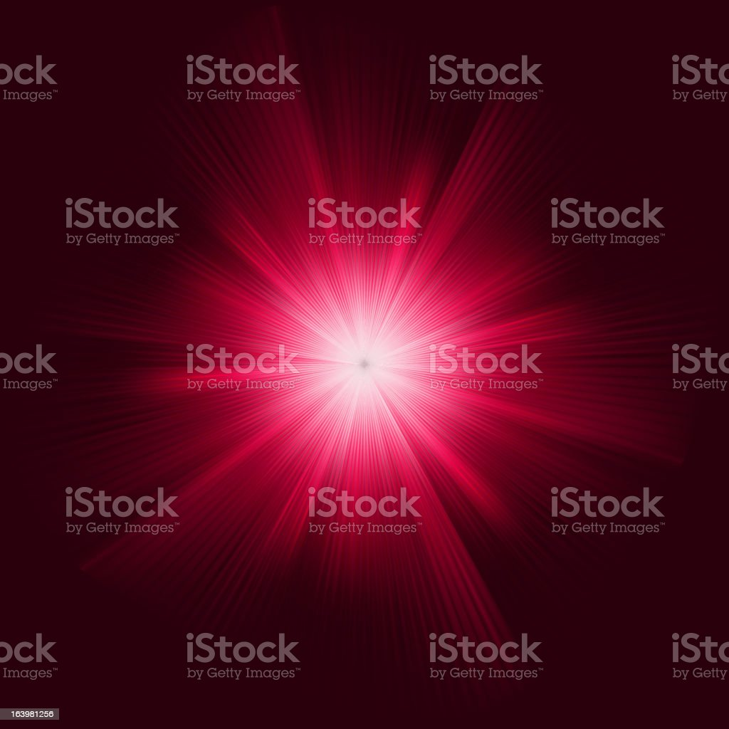 Purple color design with a burst. EPS 8 royalty-free stock vector art