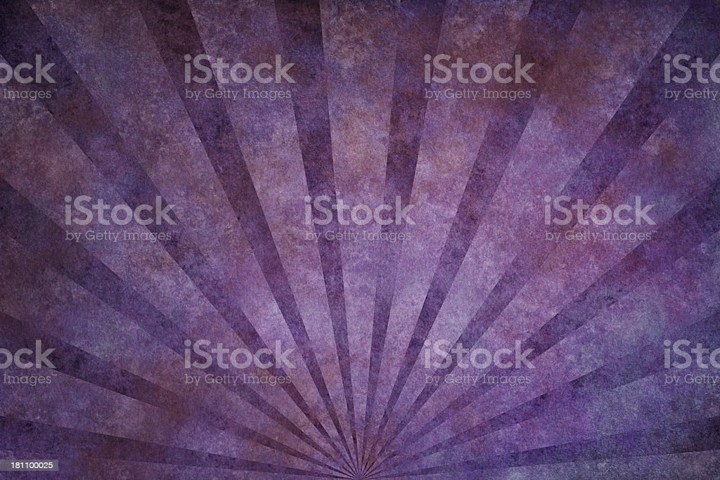 purple grunge texture with sunrays royalty-free stock vector art