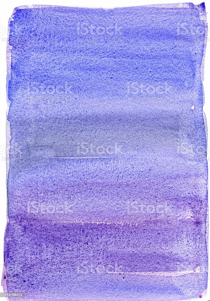 Purple/blue wash vector art illustration