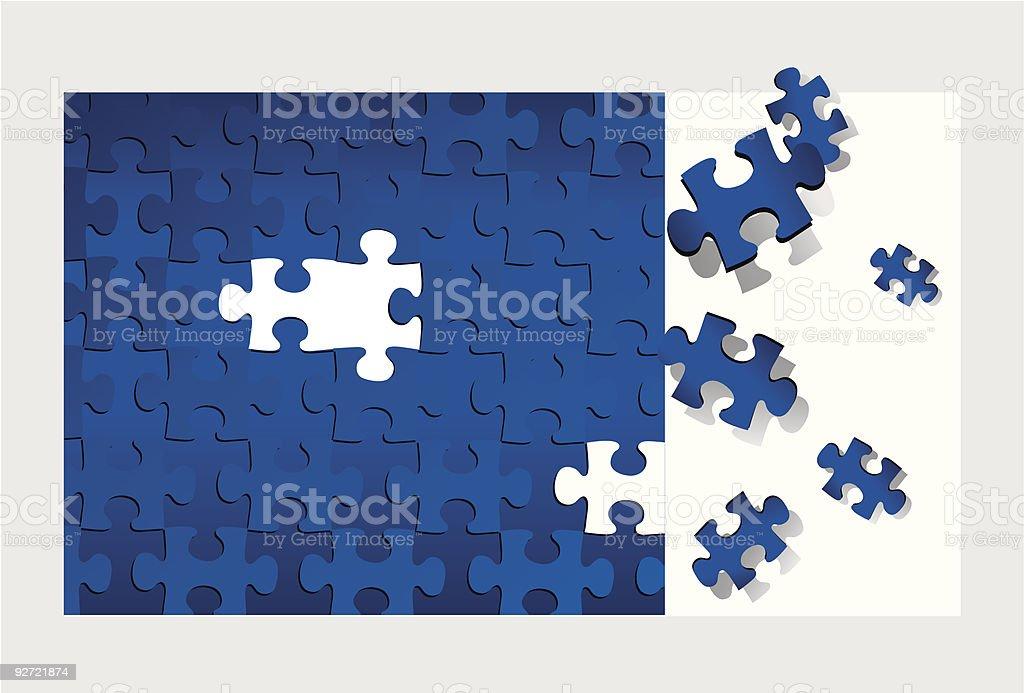 Puzzle (vector + XXL jpg in ZIP folder) royalty-free stock vector art