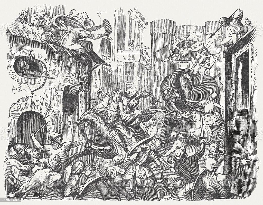 Image result for pyrrhus of epirus battle of argos