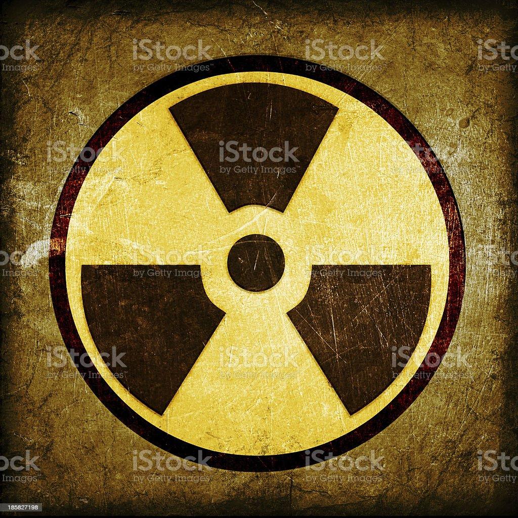 radioactivity symbol royalty-free stock vector art