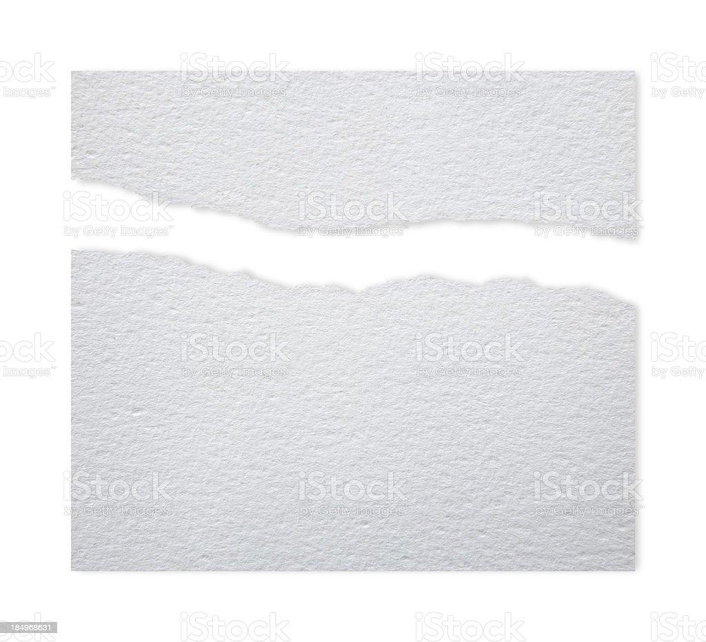 Ragged WaterColor Paper vector art illustration