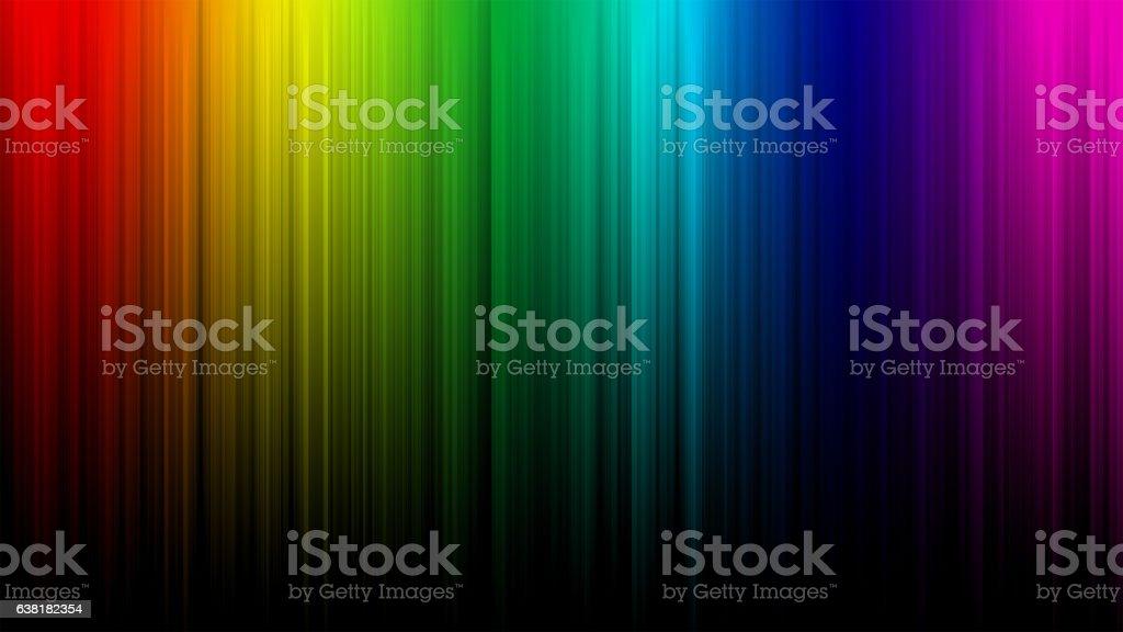 Rainbow Abstract Background vector art illustration