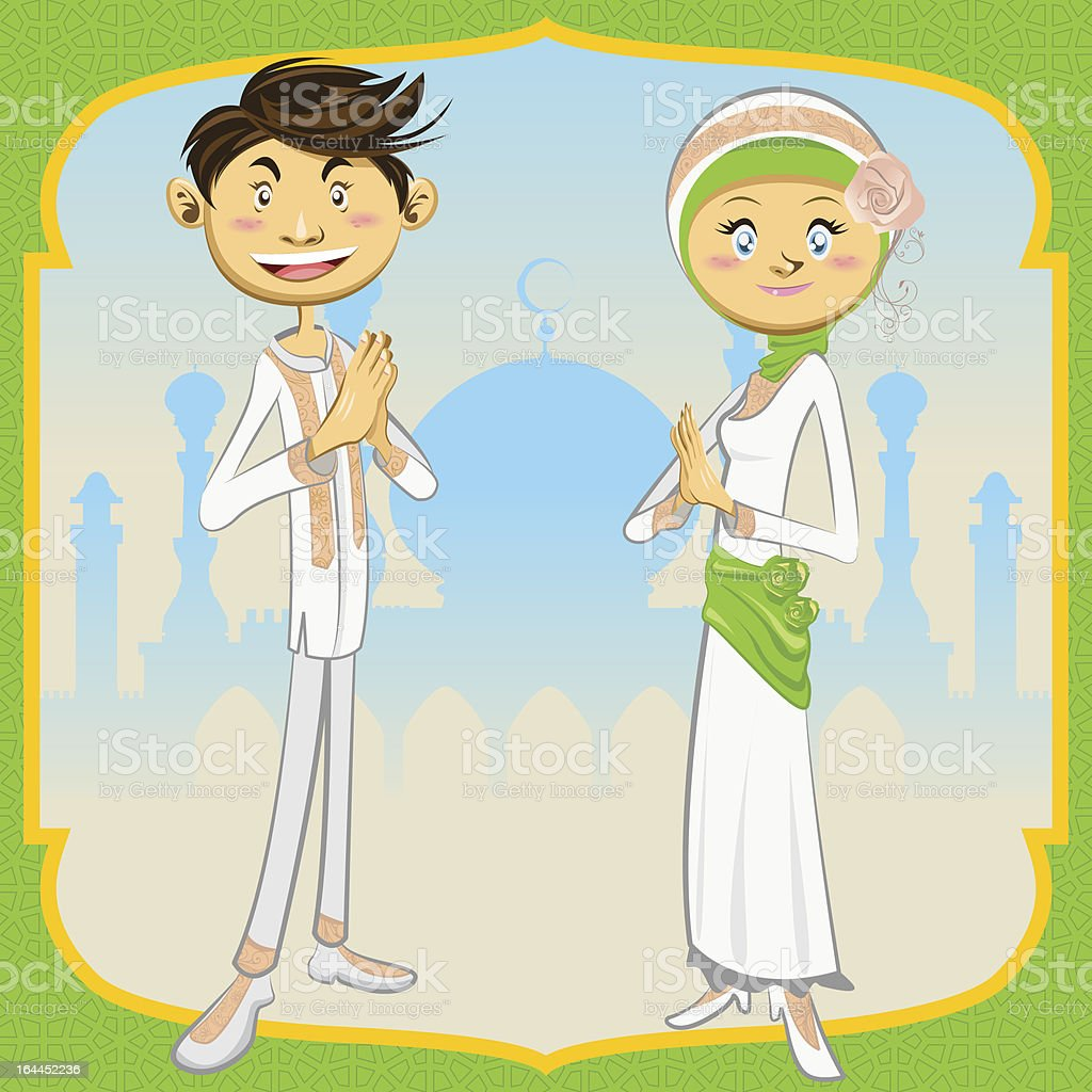 Ramadan Mubarak royalty-free stock vector art