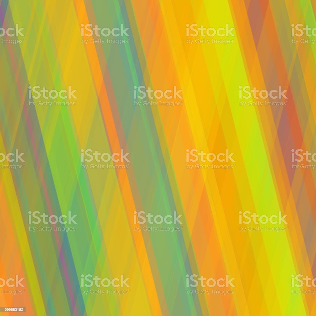 Random colorful overlapping stripes. Abstract background. vector art illustration