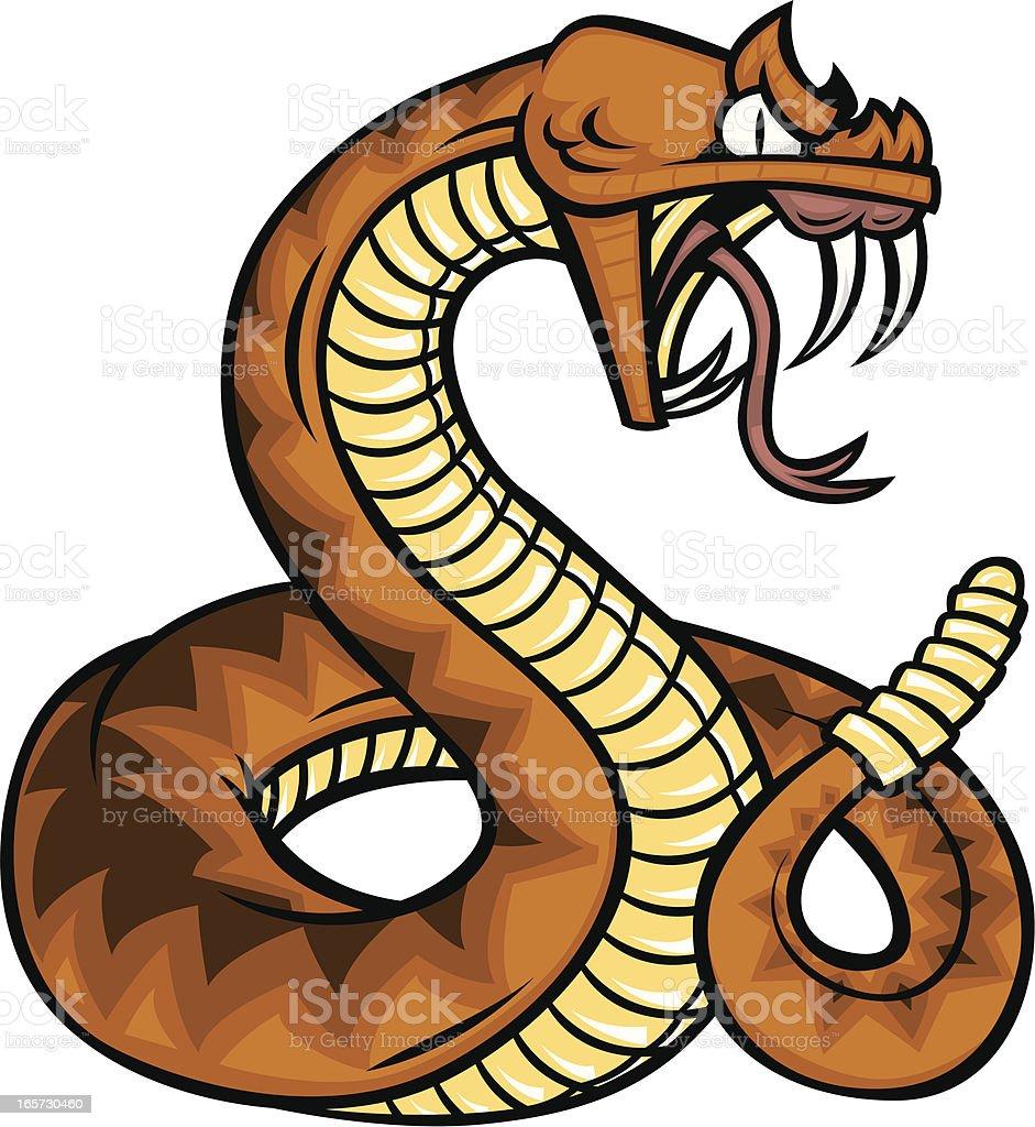 rattlesnake royalty-free stock vector art