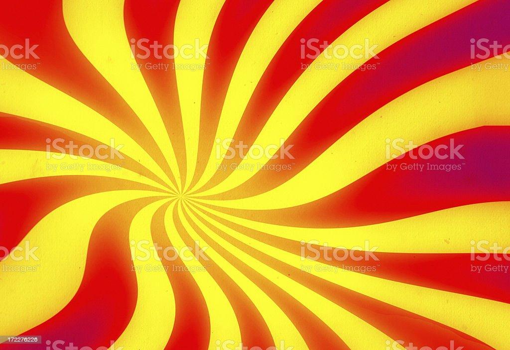 Ray pattern vector art illustration
