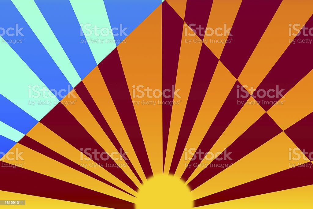 rays royalty-free stock vector art