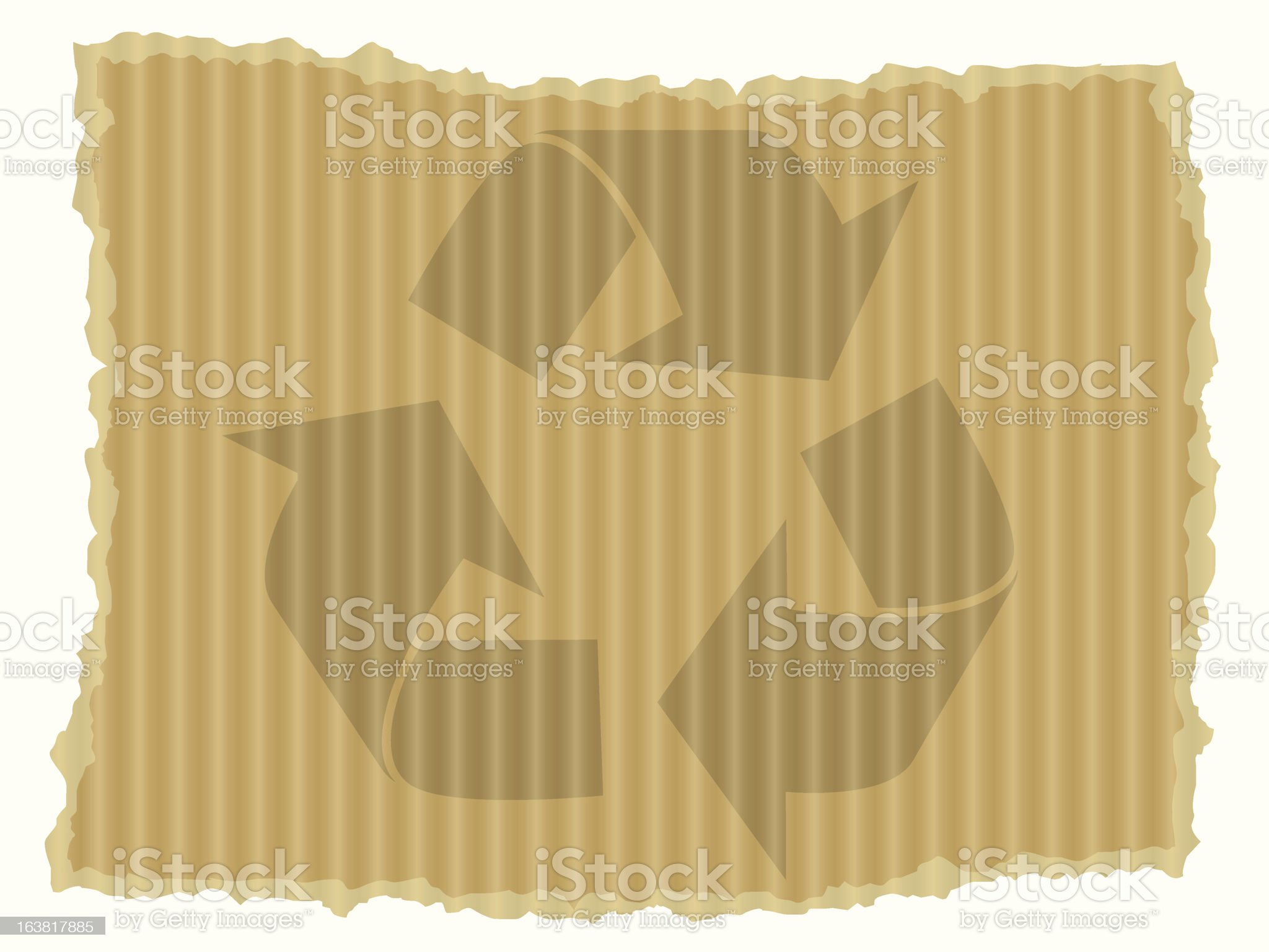 Recycling concept royalty-free stock vector art