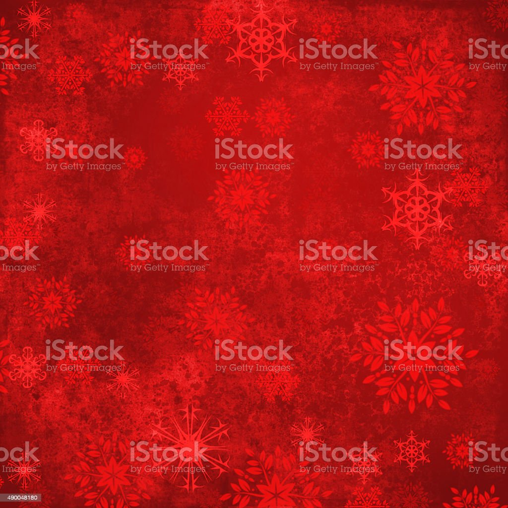 Red Abstract Christmas Background vector art illustration