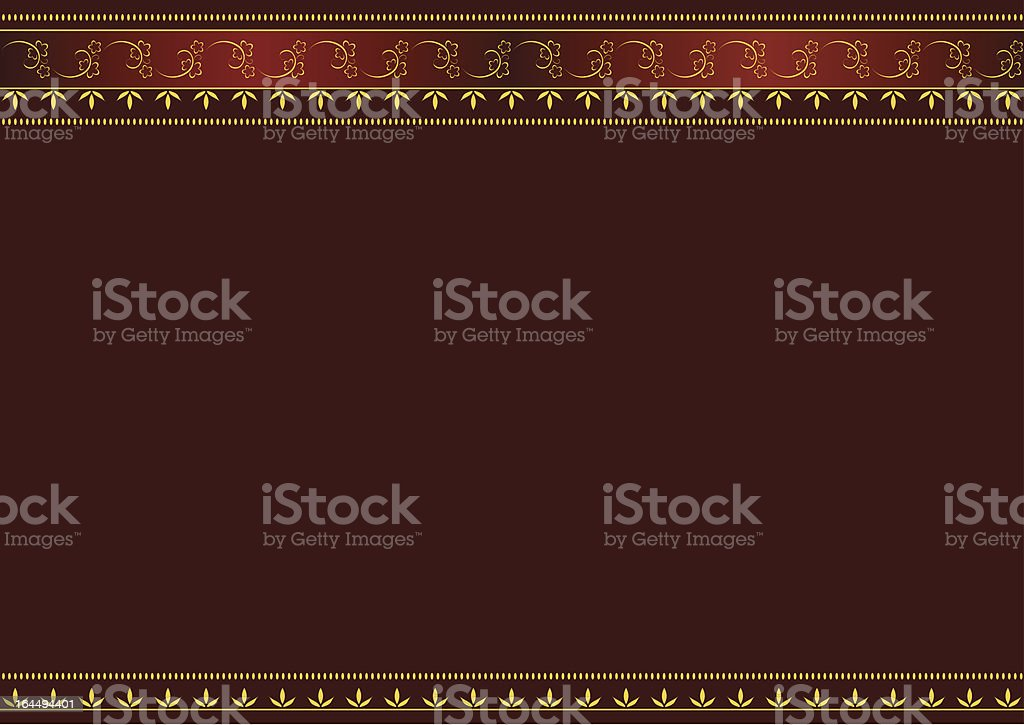 Red and gold royalty-free stock vector art