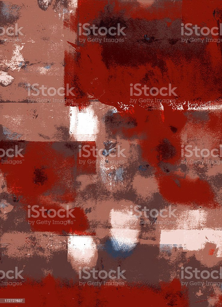 Red and white grunge royalty-free stock vector art
