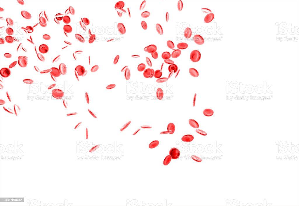 Red Blood Cells vector art illustration