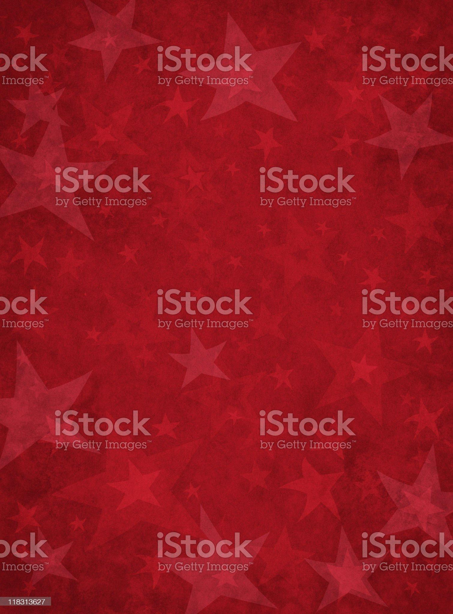 Red Grunge Stars royalty-free stock vector art