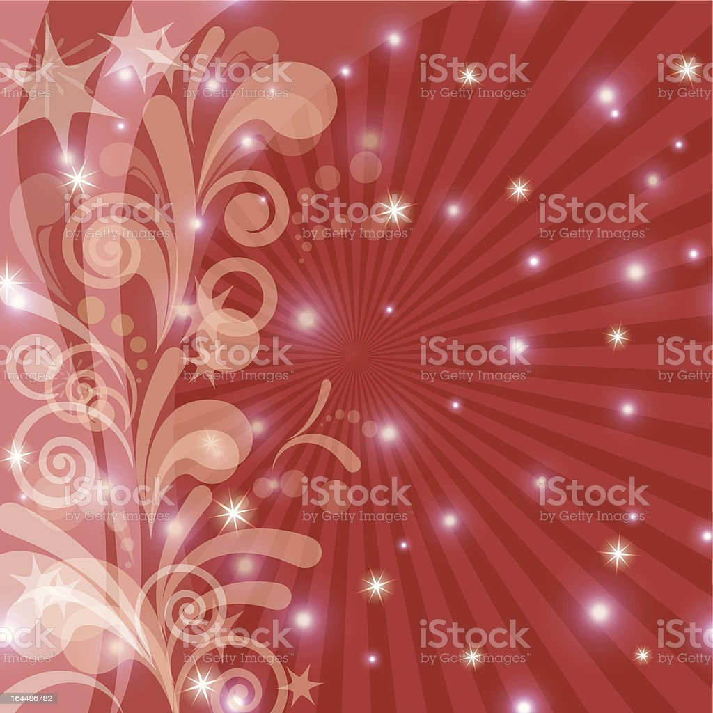 Red holiday background royalty-free stock vector art