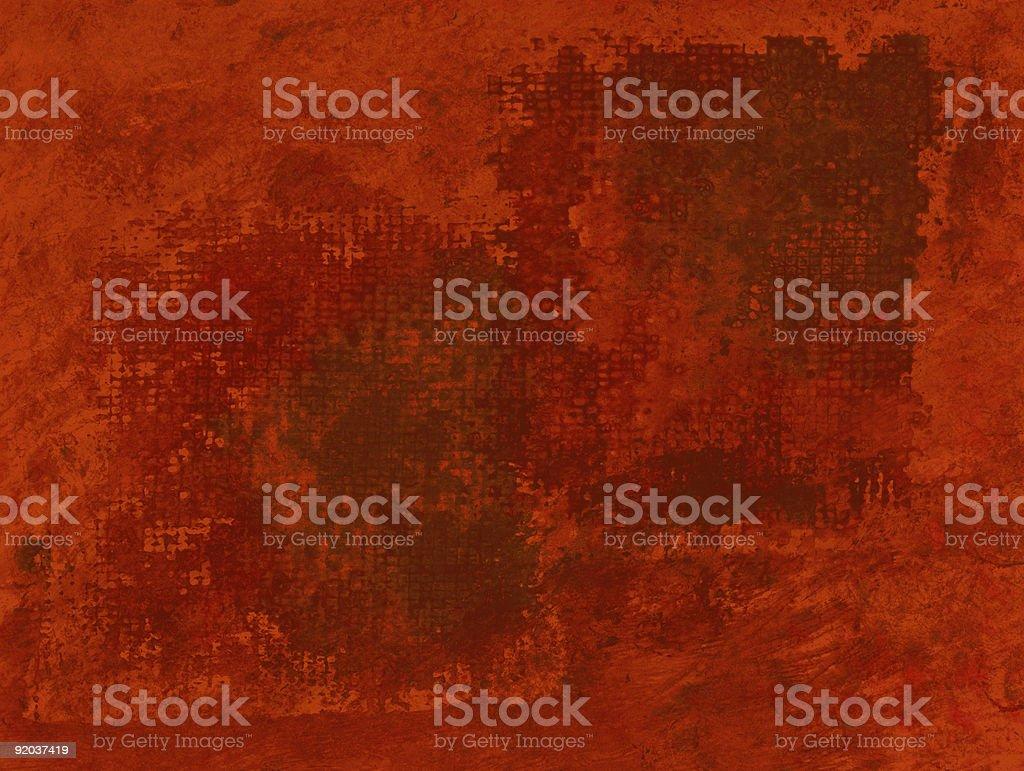 Red Mesh Painting vector art illustration