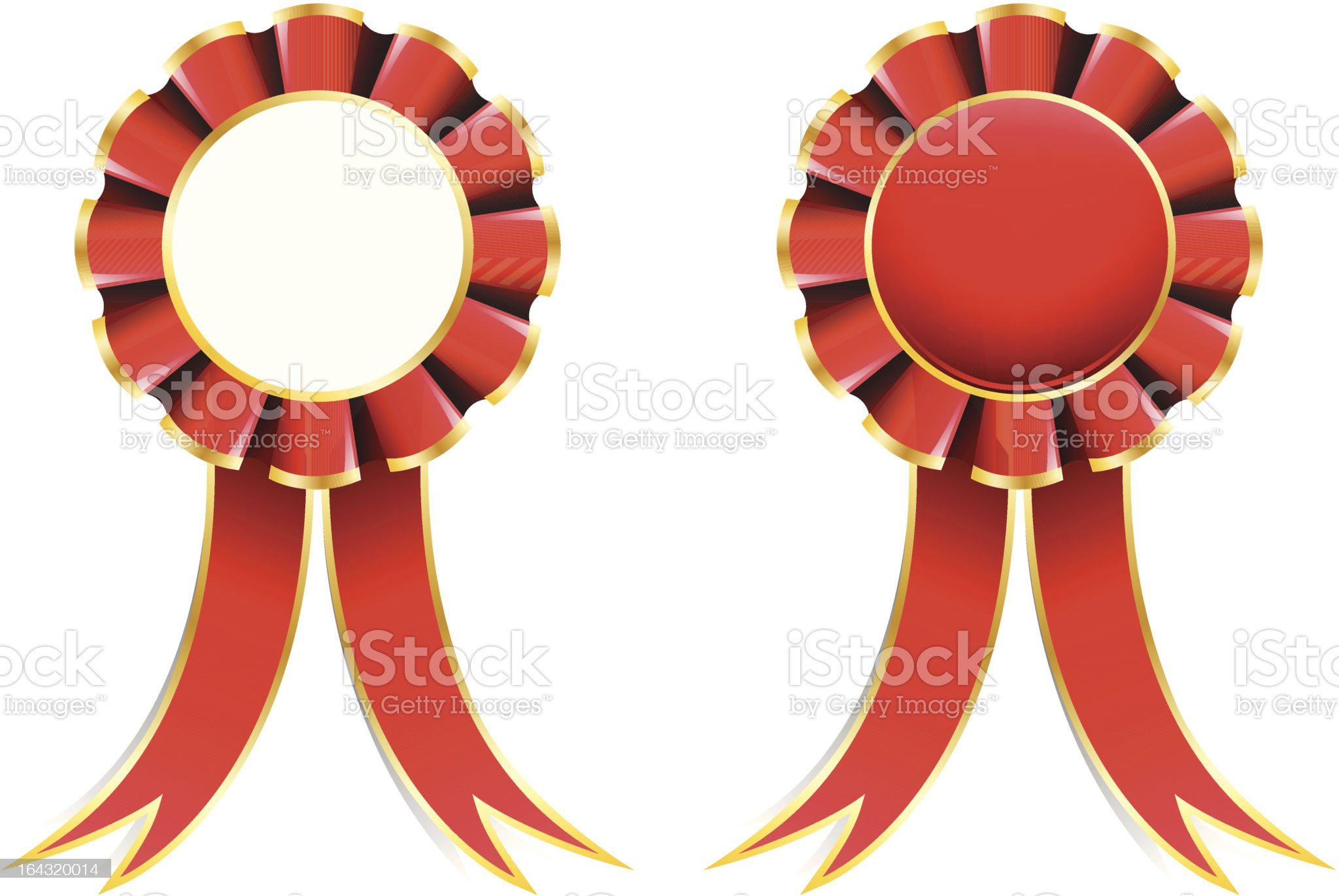 Red Ribbon royalty-free stock vector art
