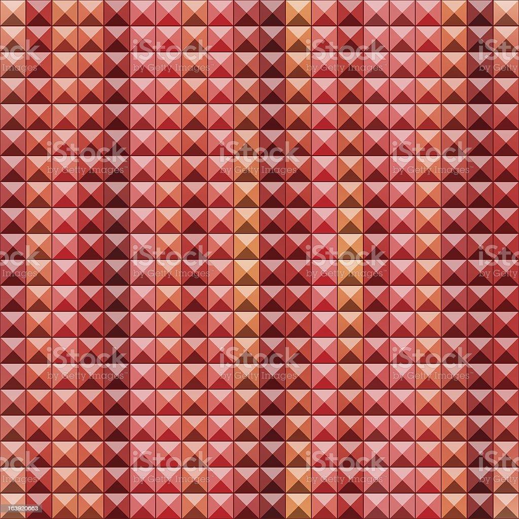 Red seamless background vector art illustration