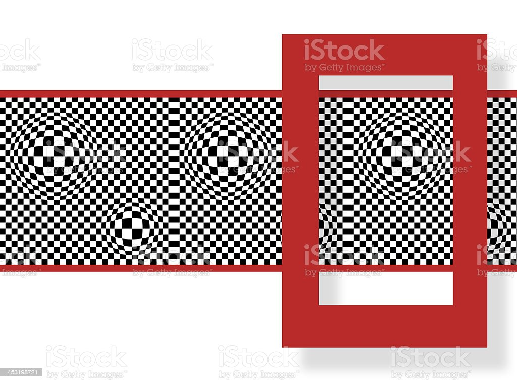 red sguare royalty-free stock vector art