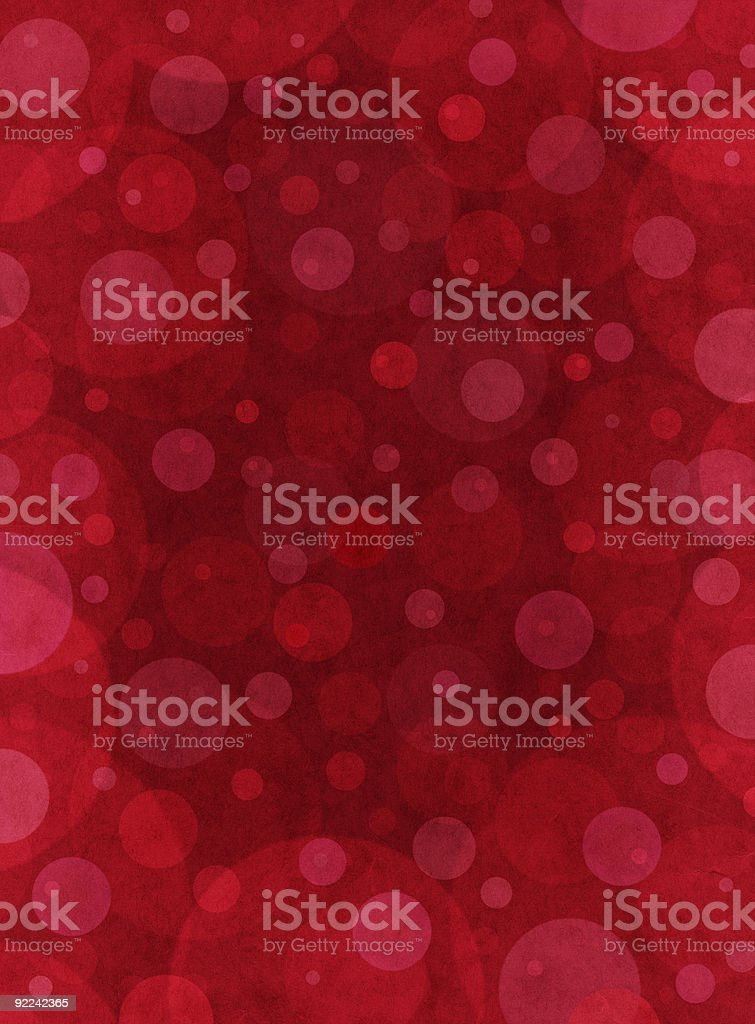 Red Textured Circles royalty-free stock vector art