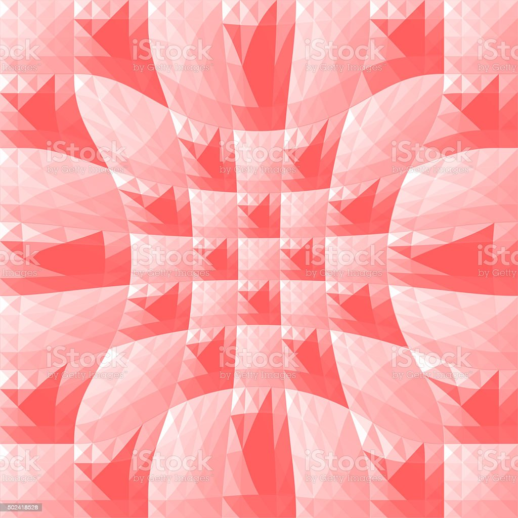 Red triangle and square background1 stock photo