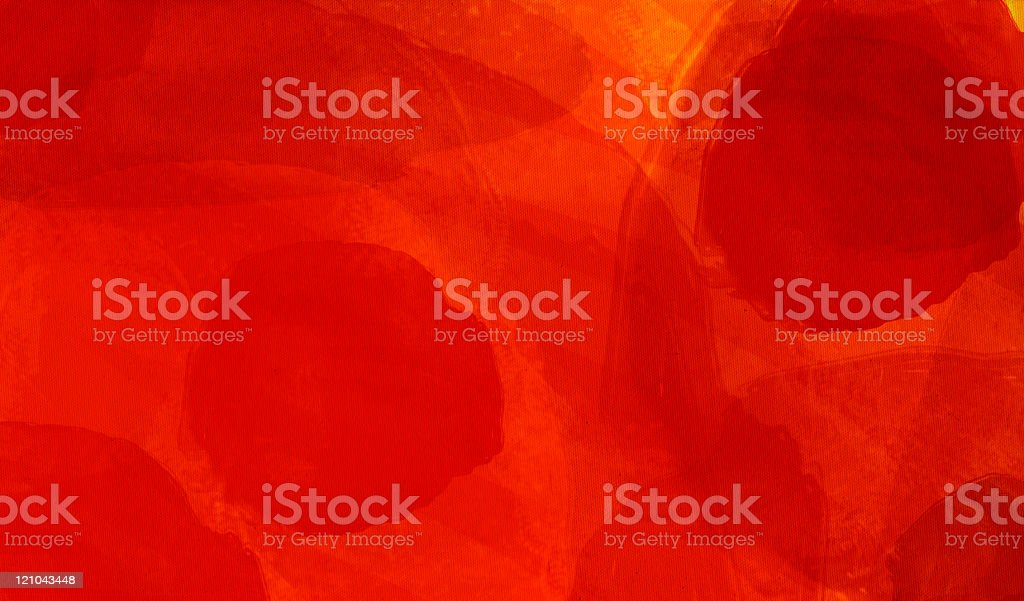 Red Watercolor paint colored Canvas series XXXL - Passion vector art illustration