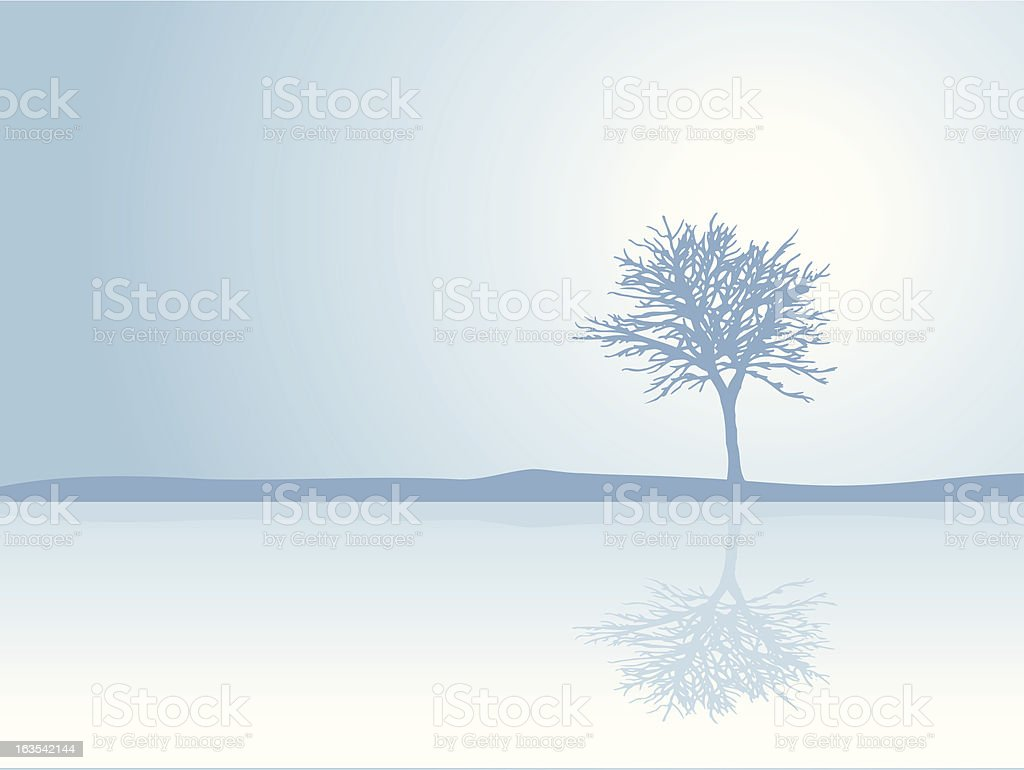 Reflections royalty-free stock vector art