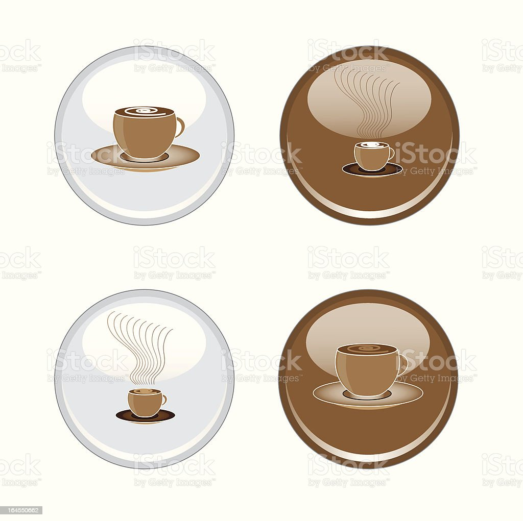 Refreshment icons royalty-free stock vector art