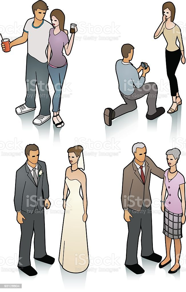 Relationship royalty-free stock vector art