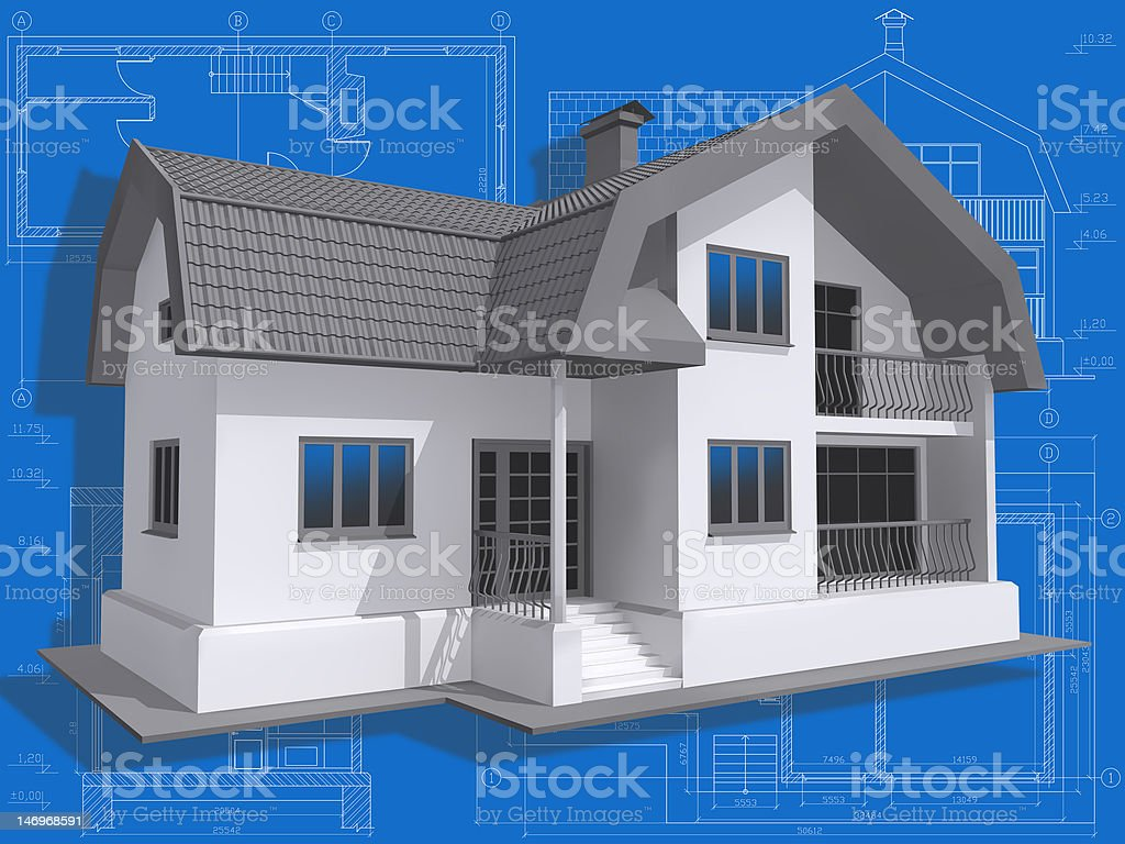 Residential. royalty-free stock vector art