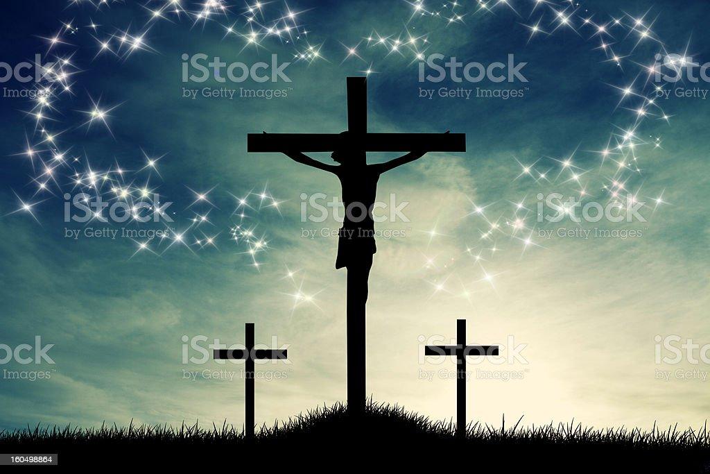 Resurrection royalty-free stock vector art
