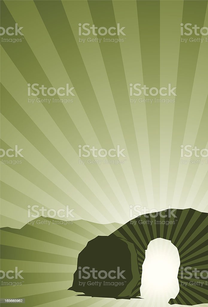 resurrection royalty-free stock vector art