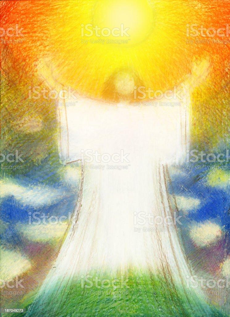 Resurrection vector art illustration