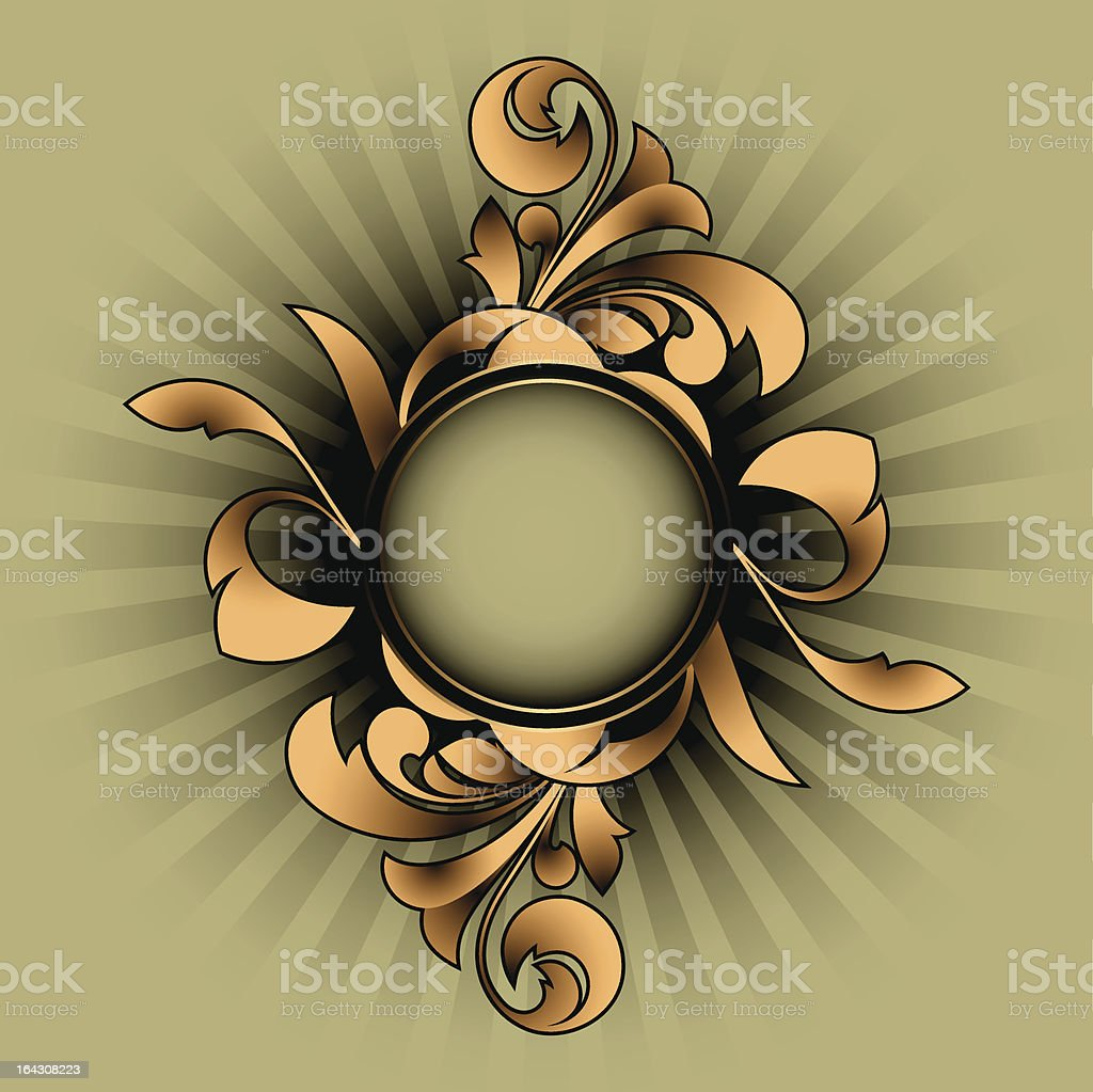 Retro abstract royalty-free stock vector art