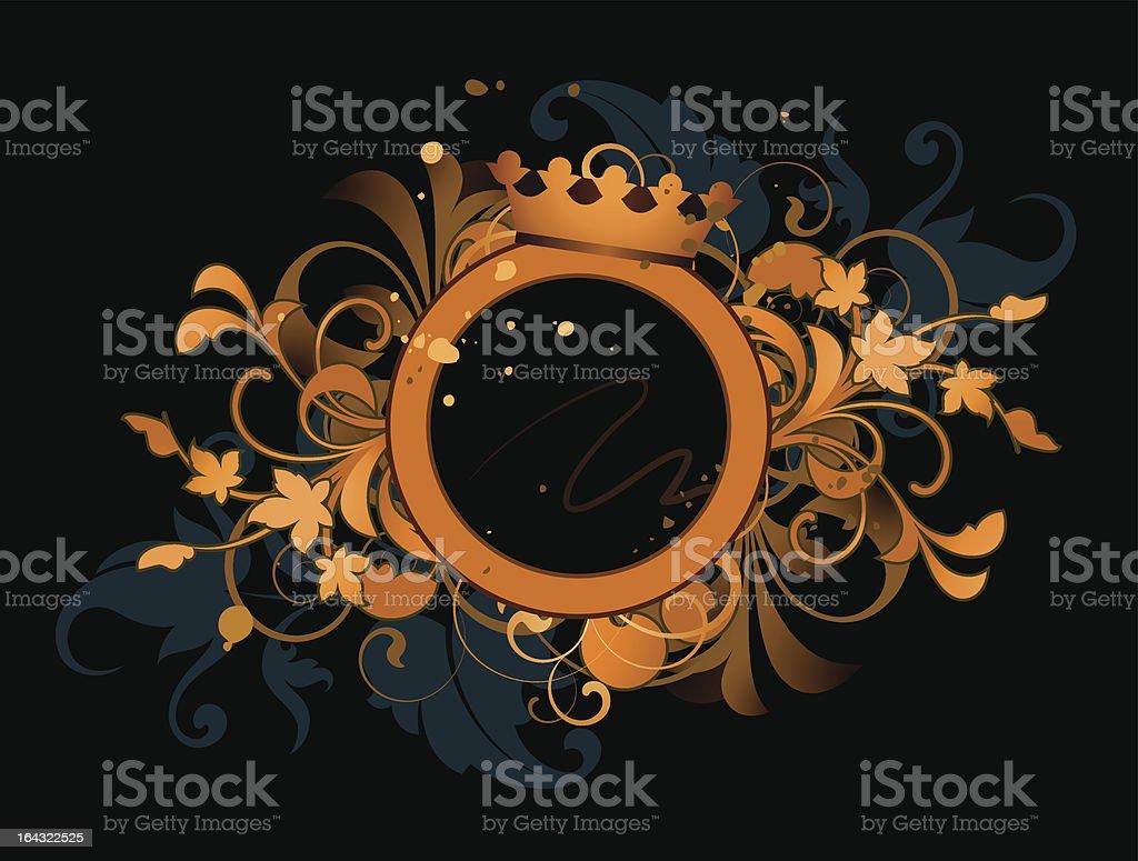 Retro banner royalty-free stock vector art