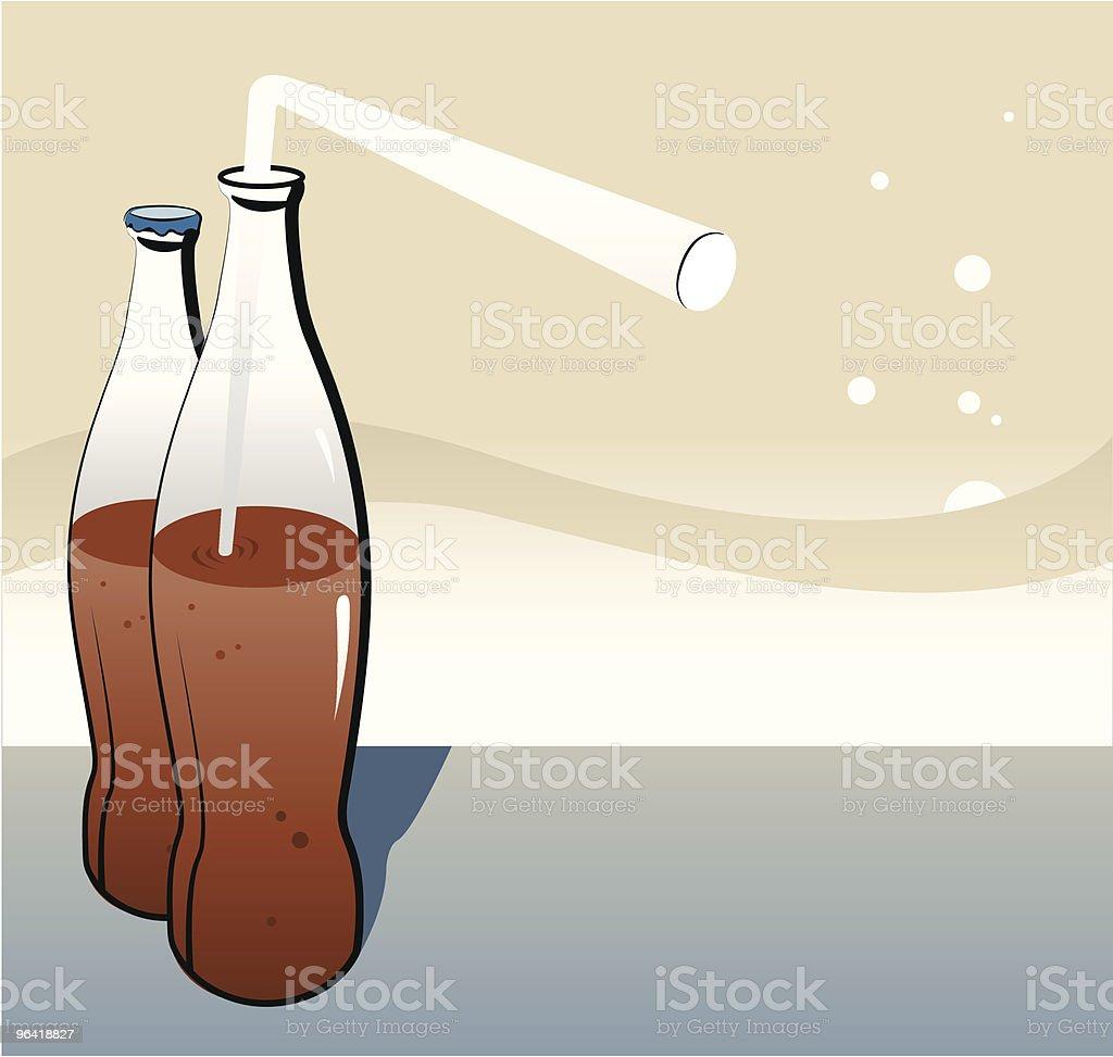 Retro Cola [vector] royalty-free stock vector art