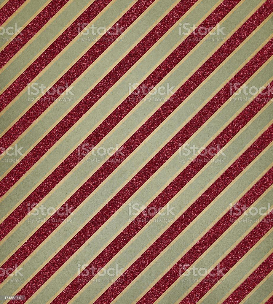 retro paper with red glitter stripe vector art illustration