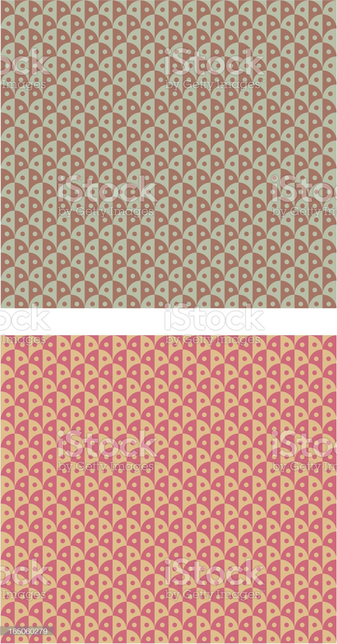 Retro pattern royalty-free stock vector art
