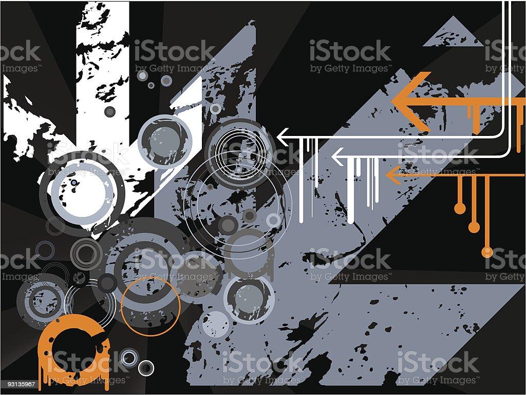Retro vector royalty-free stock vector art