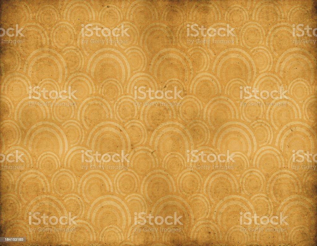 Retro Wallpaper royalty-free stock vector art