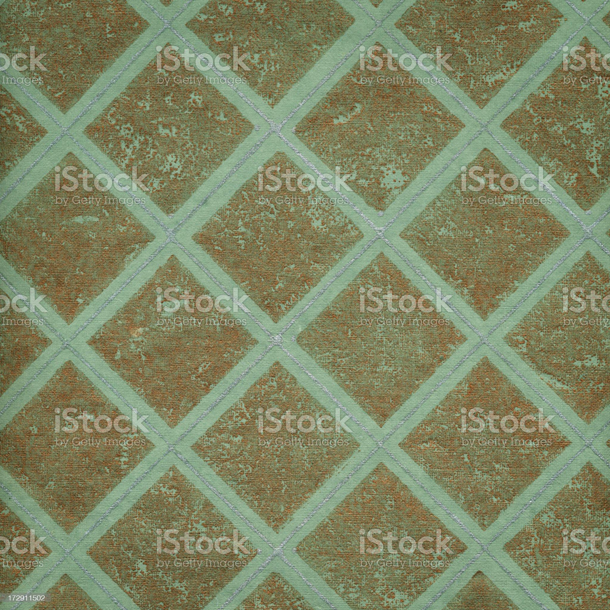 retro wallpaper with metallic effect royalty-free stock vector art