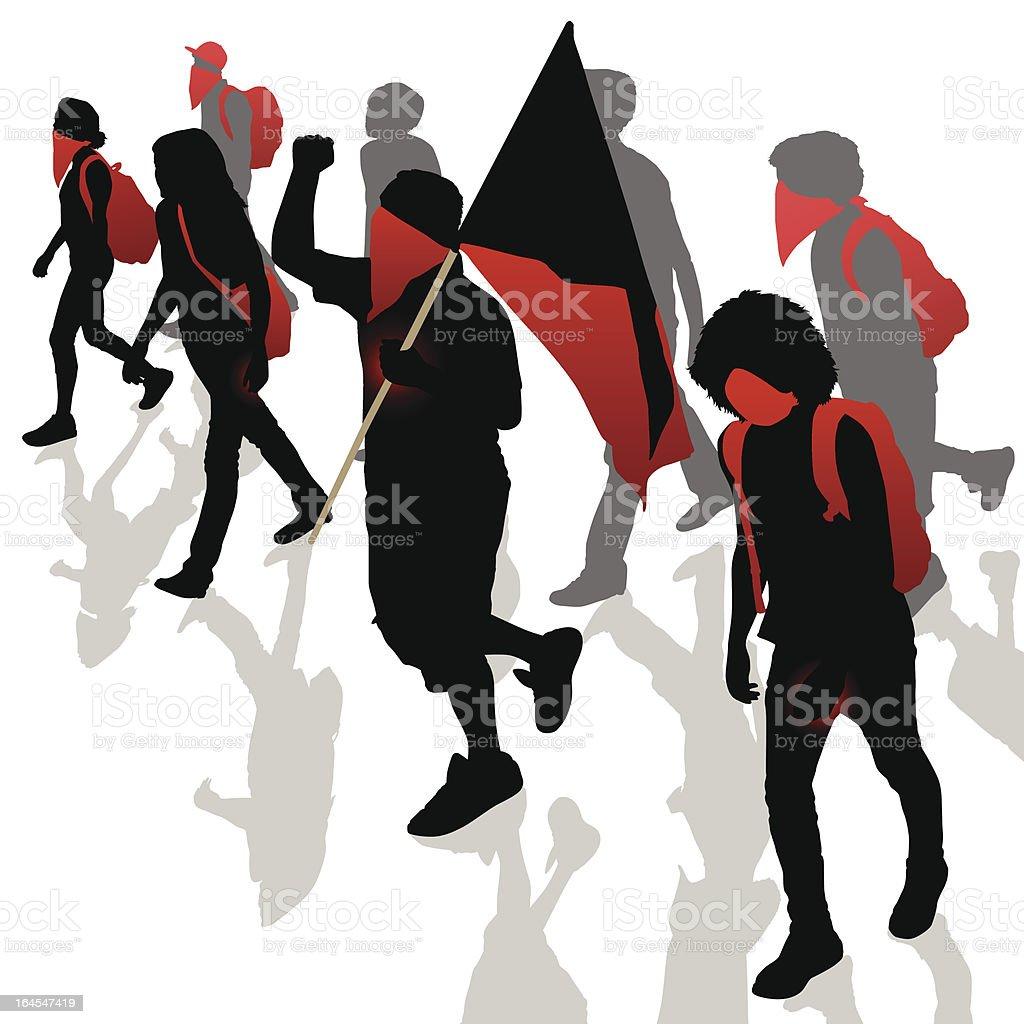 Revolution royalty-free stock vector art