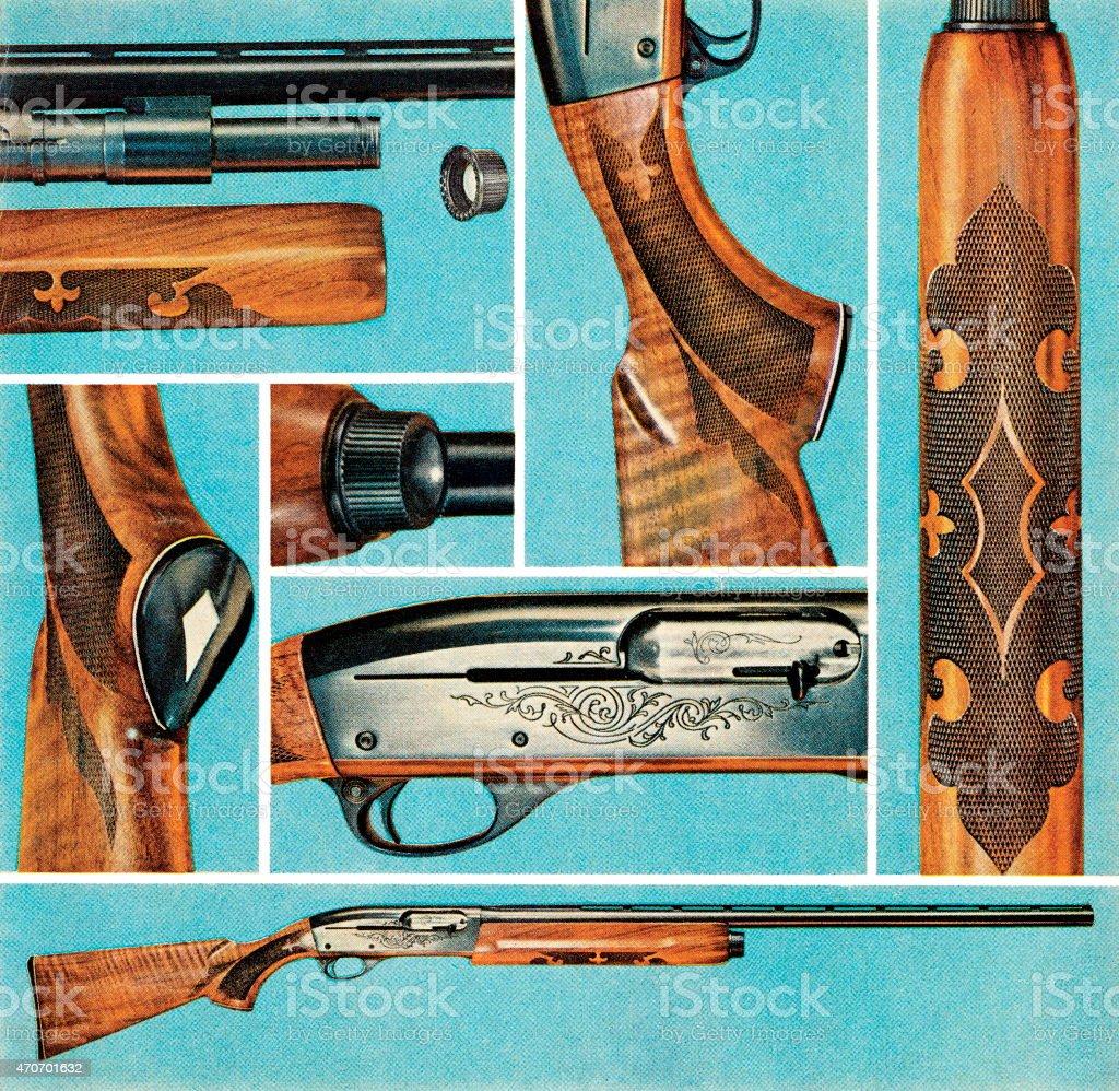 Rifle images vector art illustration