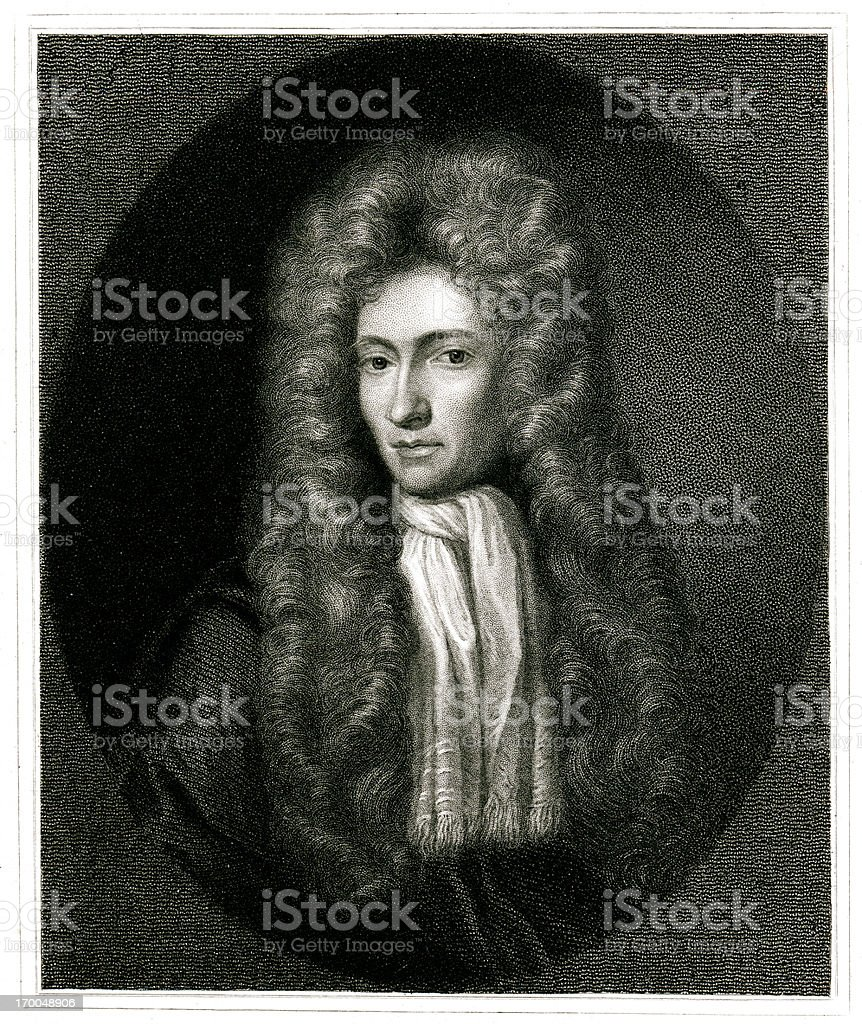 Robert Boyle royalty-free stock vector art