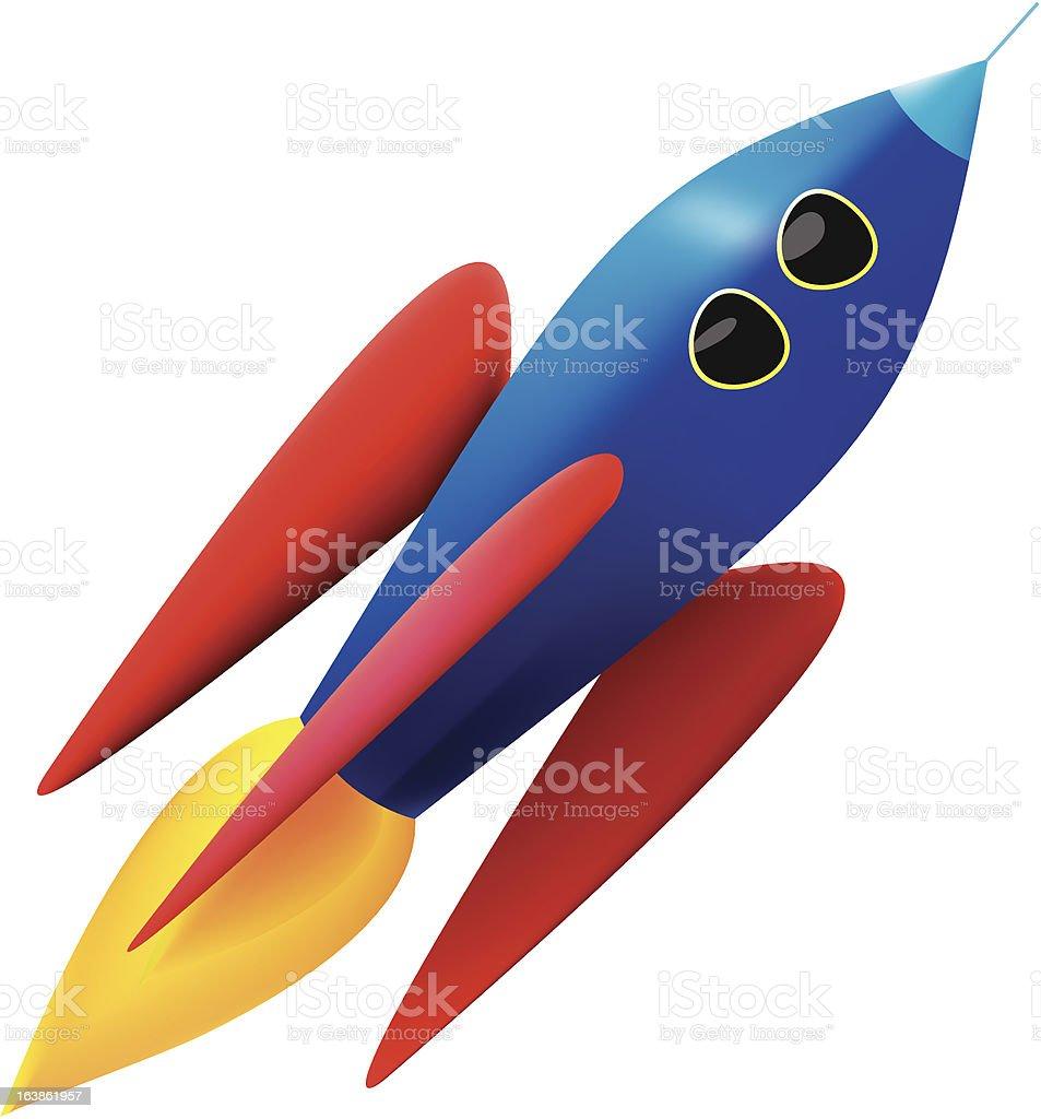 Rocket! royalty-free stock vector art